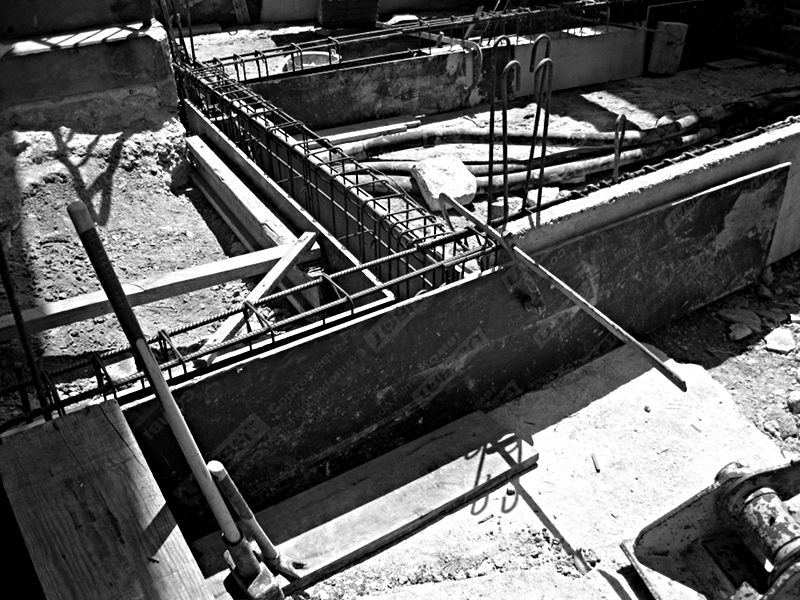 Chantier Extension 1 Fondation