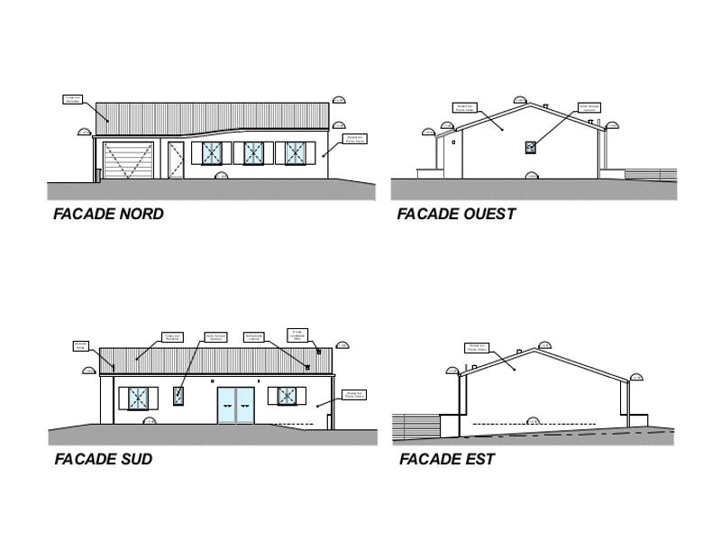 Cantier 3CG - facades