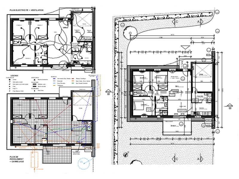 Chantier 3 CG - Plans